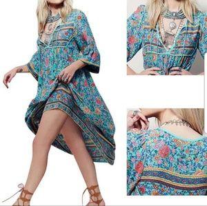Dresses & Skirts - Gypsy Spell Inspired Folktown Maxi